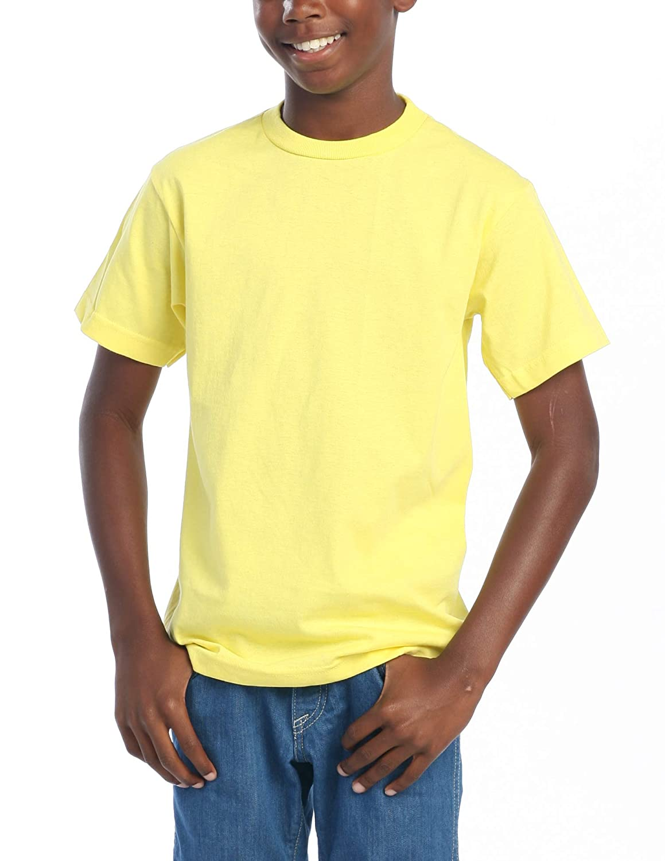 Pro Club Youth Short Sleeve Crew Neck T-Shirt