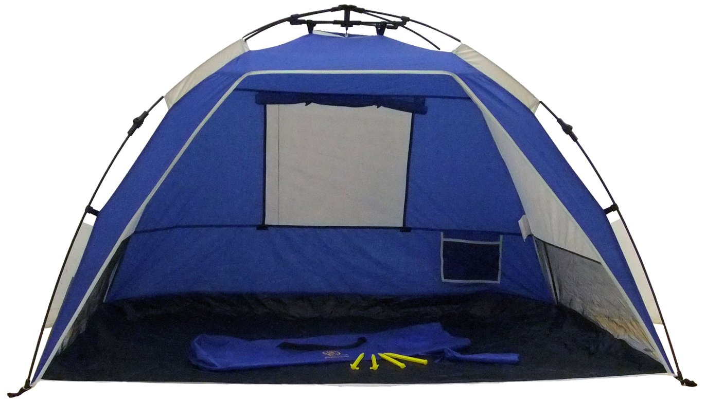 The Genji Sport is an excellent additional protection from the sun when youu0027re at the beach. If the sun gets too much hide away in this pop-up tent .  sc 1 st  The C&ing Trips & What Is The Best Pop-Up Tent In The Market?