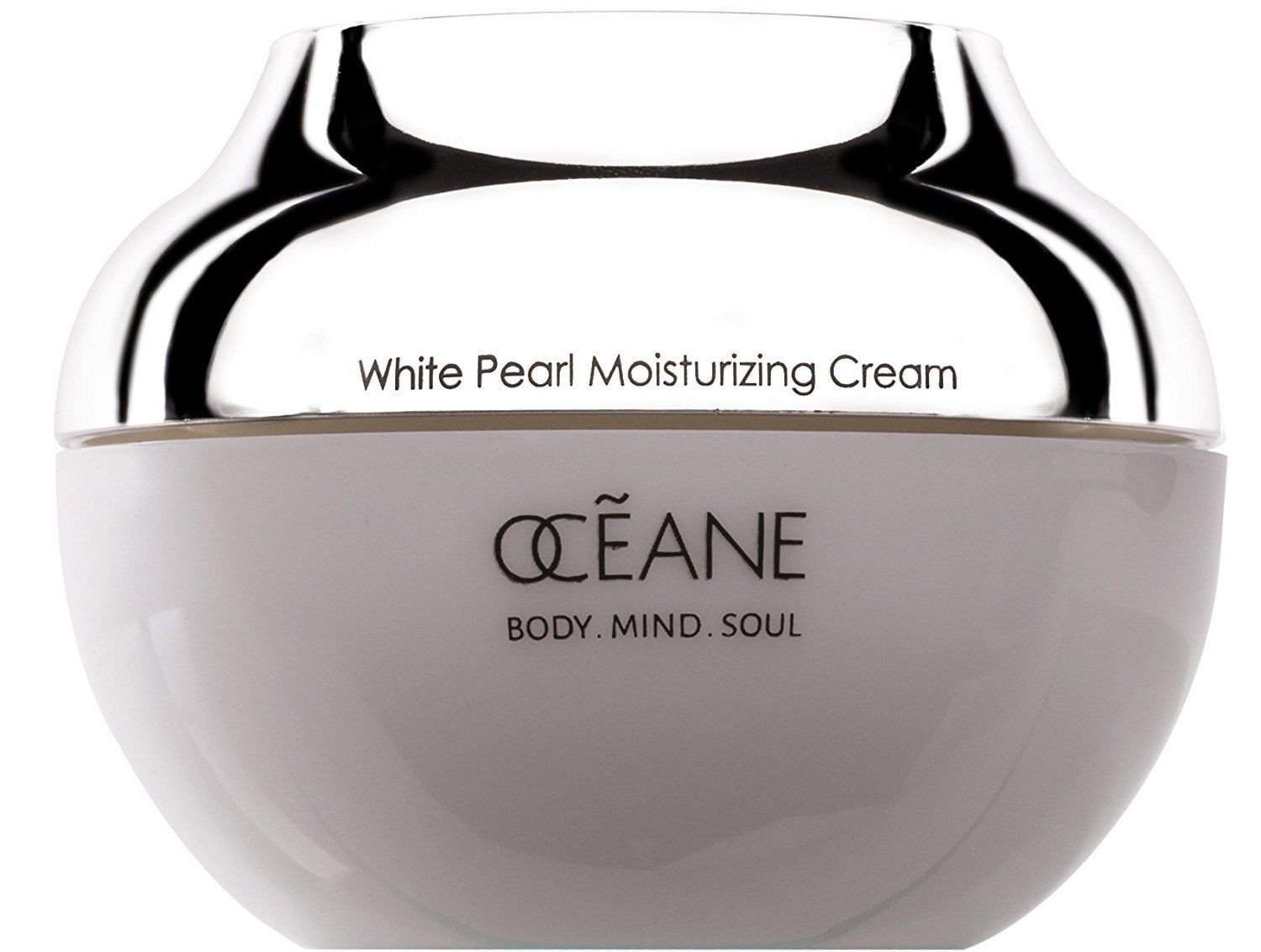 OCEANE Beauty Moisturizing Cream 100% Pearl Infused Powder, Face & Neck 1.76oz Forever Flawless