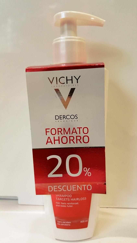 Dercos Champú Estimulante 400 ml 20% ahorro: Amazon.es: Salud y cuidado personal