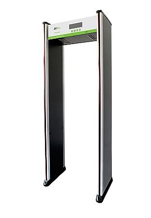 ZKTeco caminar a través de detector de metales de alta sensibilidad 18 zona: Amazon.es: Jardín