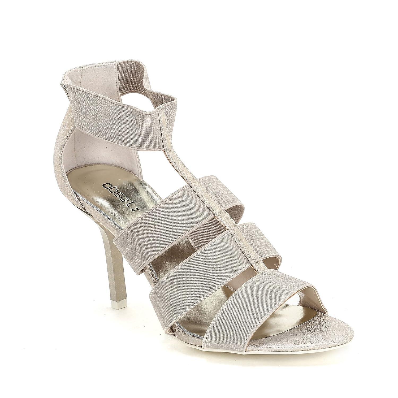 Obsel  Scarpe&Scarpe Scarpe&Scarpe Scarpe&Scarpe - Sandali Alti con Fasce in Elastico Glitterato, con Tacco 9 cm 45c571