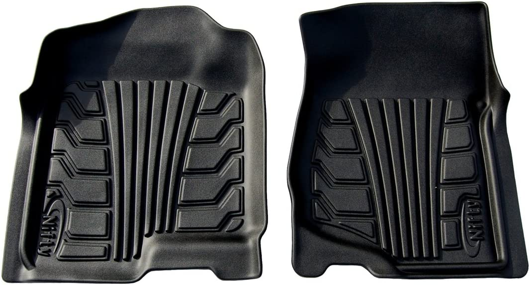 Lund 283010-B Catch-It Vinyl Black Front Seat Floor Mat Set of 2