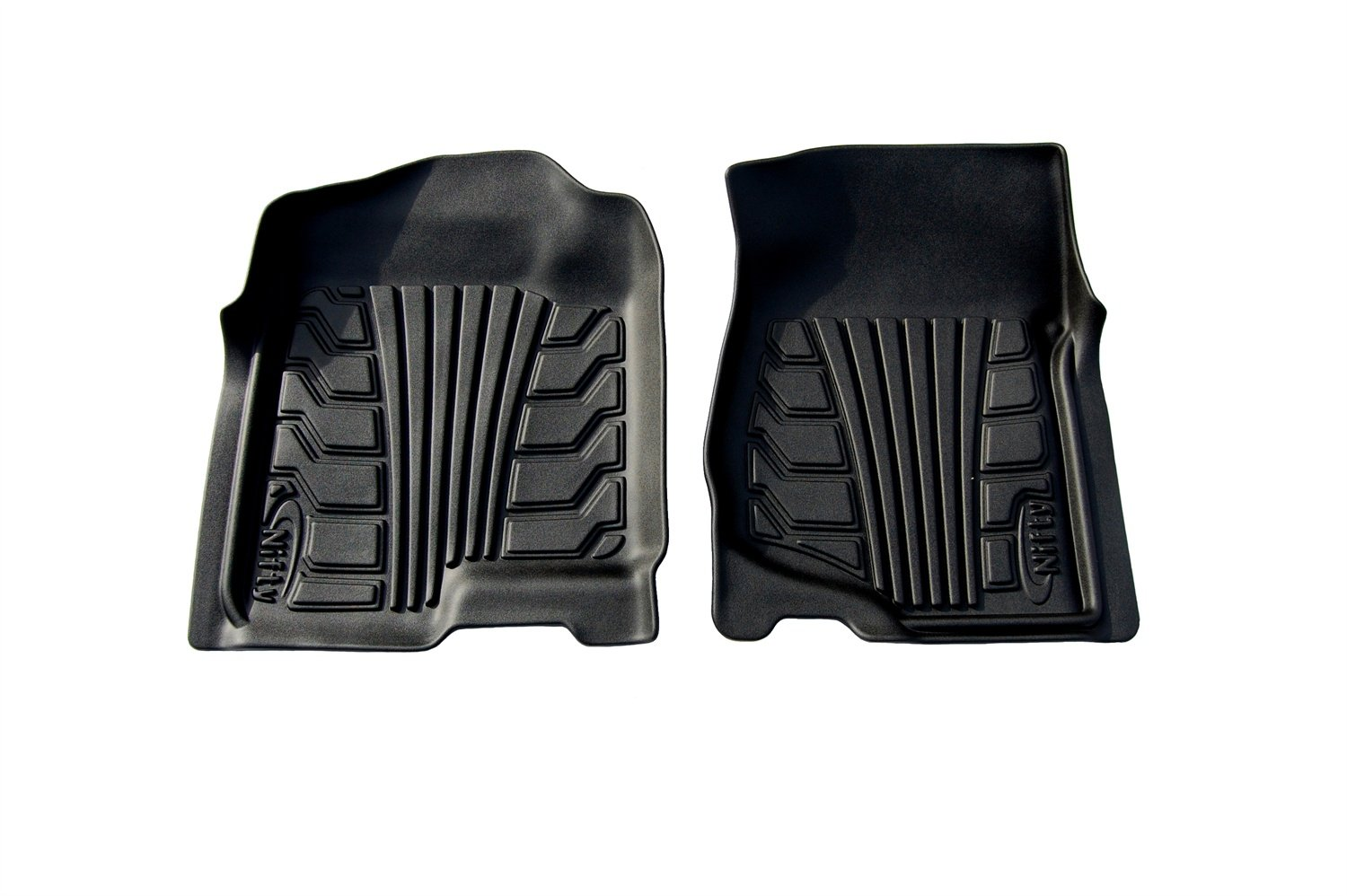 Lund 283108-B Catch-It Vinyl Black Front Seat Floor Mat Set of 2