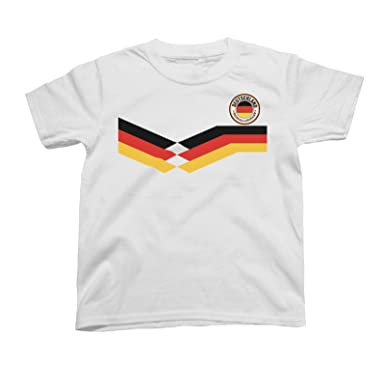 cd0316eef50 Deutschland Germany Kids Unisex T-Shirt World Cup 2018 Football Retro:  Amazon.co.uk: Clothing