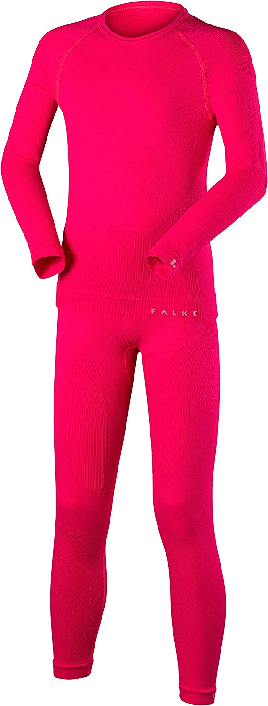 Falke Childrens Kids Longsleeved Shirt Maximum Warm Underwear Set