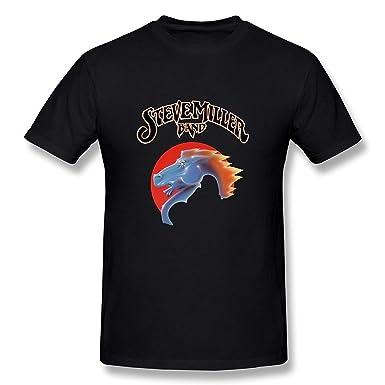 c6754a210 Amazon.com: WunoD Men's Steve Miller Band T-Shirt: Clothing