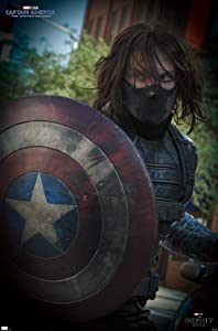 Trends International Marvel: Year of The Shield - Winter Soldier Movie Still Wall Poster, 14.725