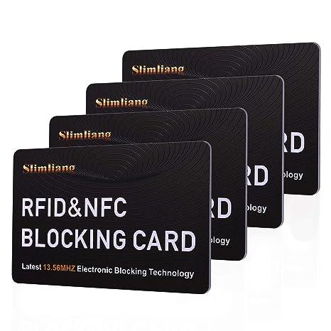 Amazon.com: Tarjeta de bloqueo RFID, protección sin ...