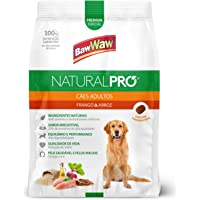 Ração Baw Waw Natural Pro para cães adultos sabor Frango e Arroz - 1kg