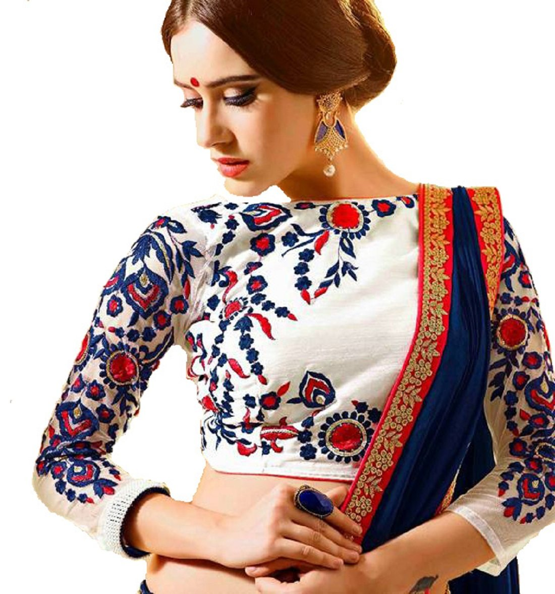 Delisa Fashion Ethnic Designer Bollywood Party Wear Pakistani Indian Saree ZL1007