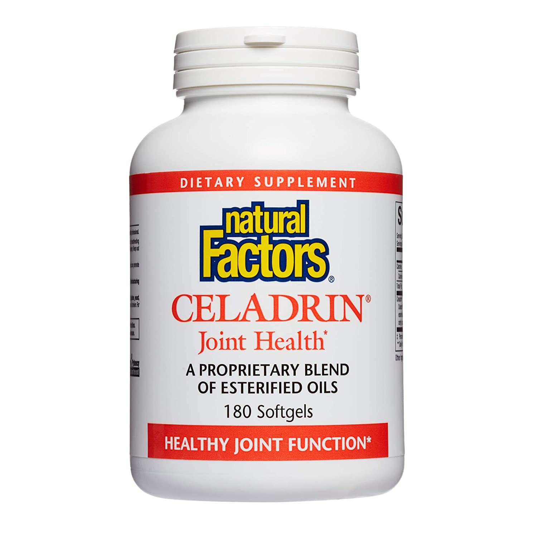 Amazon.com: Natural Factors – Celadrin conjunta de salud 350 ...