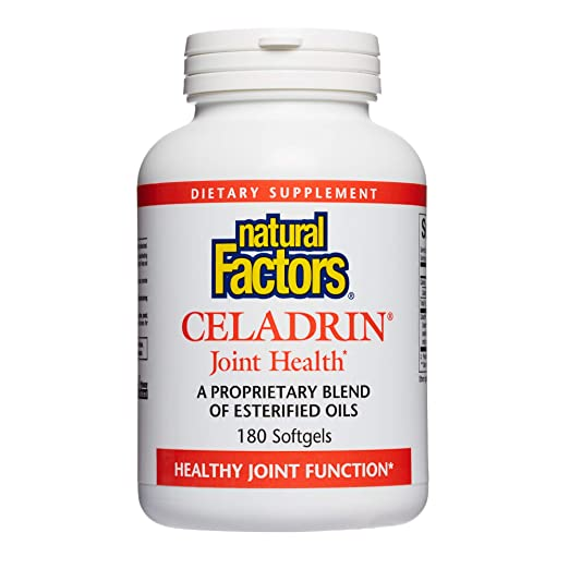 Amazon.com: Natural Factors – Celadrin conjunta de salud 350 ...