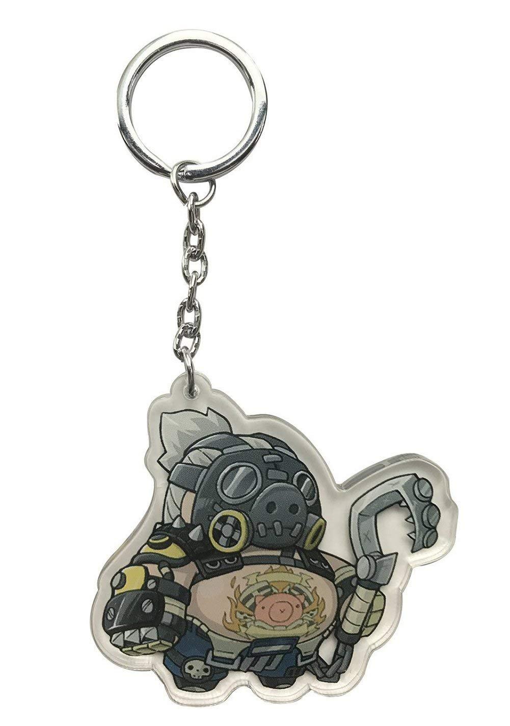 Wildforlife Overwatch Cute Acrylic Keychain (Reinhardt Single-Sided)