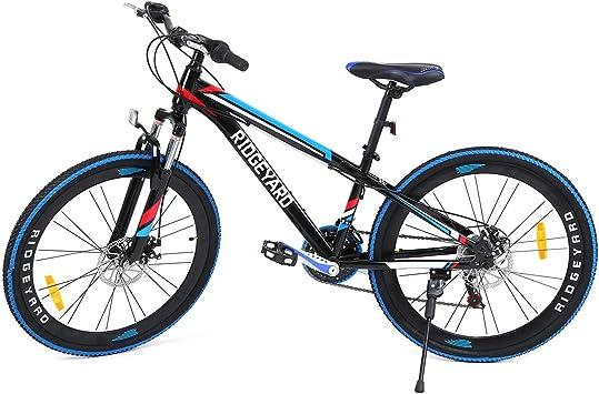 MuGuang 26 Pulgadas de 21 velocidades de Bicicleta MTB Frenos ...