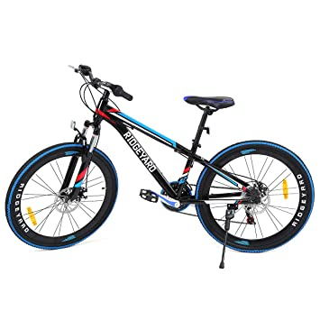 MuGuang 26 Pulgadas de 7 velocidades de Bicicleta MTB Frenos de ...