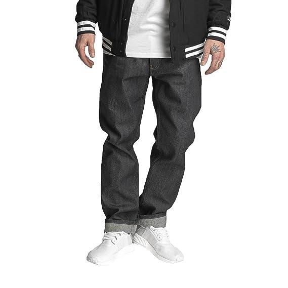 89dab83e6b60 Ecko Unltd Selvedge Soo Straight Fit Jeans - Raw Black