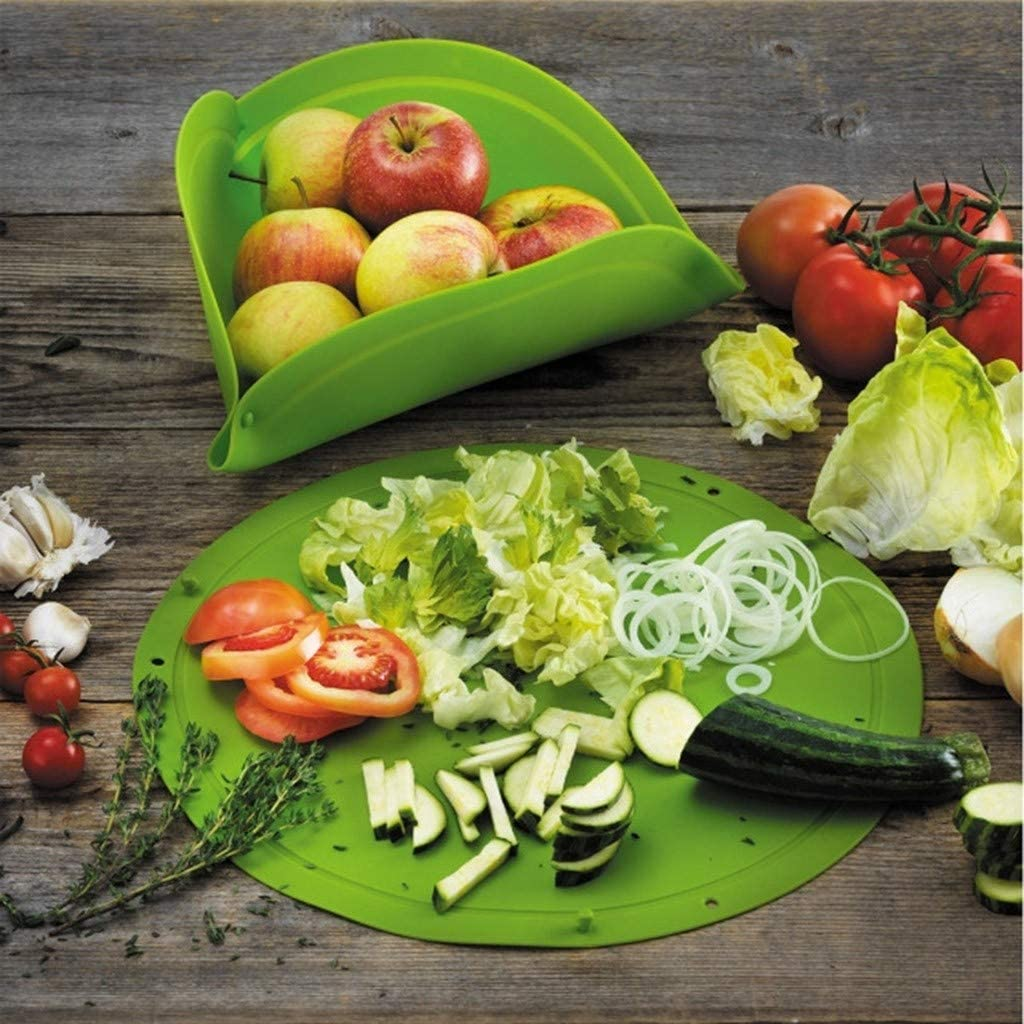 Thin Flexible Fruit Vegetable Meat Cutting Chopping Board Mat Pad Kitchen Tool