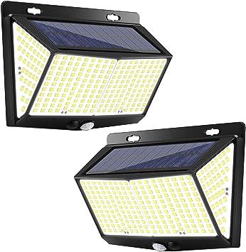 Waterproof 288 LED PIR Motion Sensor Solar Power Outdoor Garden Lamp Yard Light