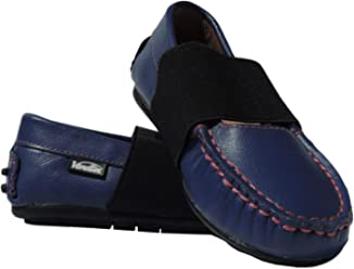 bd294c980db Venettini - Girls - Lily - Elastic Strap Leather Dress Loafers - Size 24