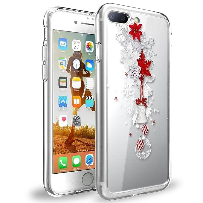 nuovi stili 31777 7b753 Neivi Cover iPhone 8 Plus Cases Trasparente con Disegni ...