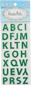 Apple YYY E-80 Glitter Letters Sticker - Green