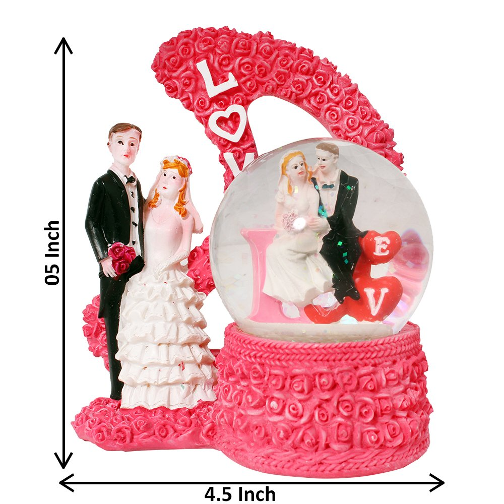 Buy ART N HUB ValentineRomantic Love couple Statue Home Décoration ...