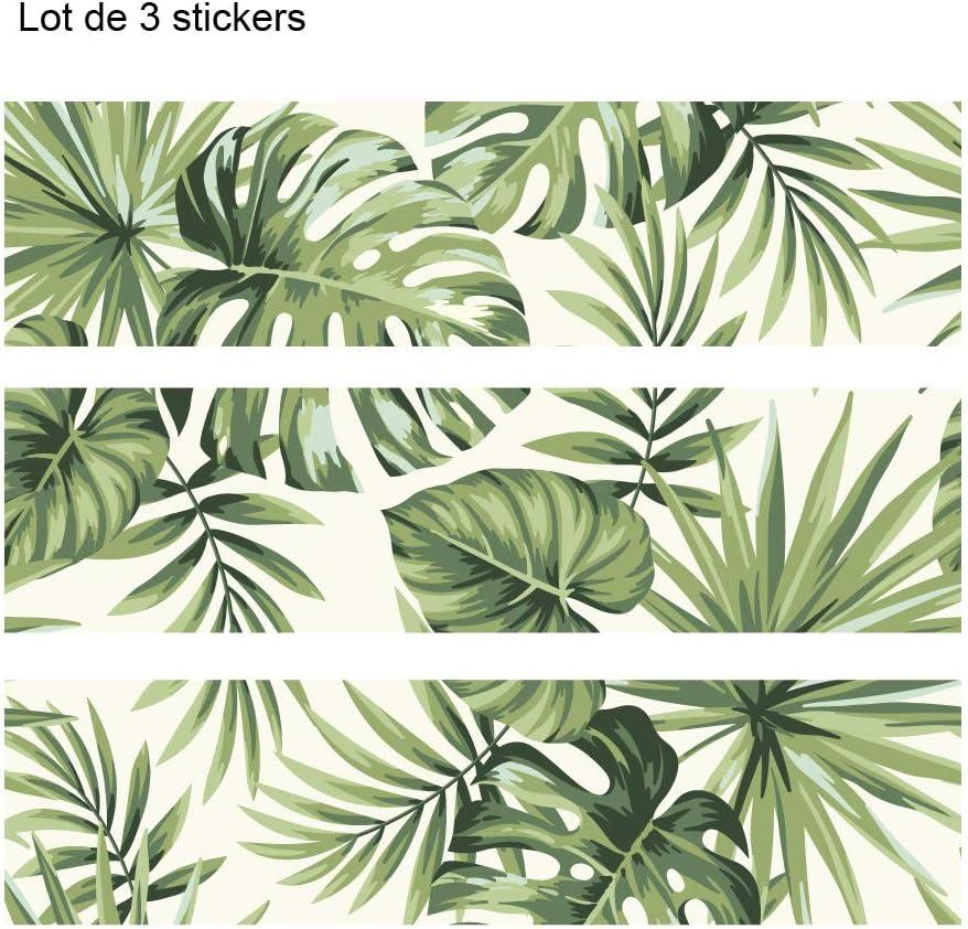 Lot De 3 Stickers Adhesif Pour Meuble Ikea Malm Modele Flower Ameublement Et Decoration Cuisine Maison