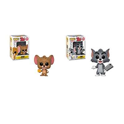 Funko Pop! Bundle of 2: Tom and Jerry: Toys & Games