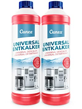 Cunea I Descalcificador liquido I Para máquinas de café esprreso (2x 750ml): Amazon.es: Hogar