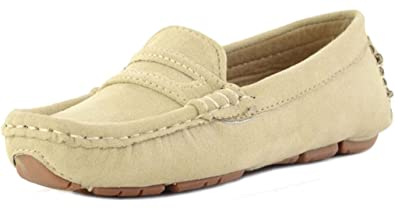 5cdd809264c PPXID Girl s Boy s Suede Slip-on Loafers Shoes(Toddler Little Kid Big