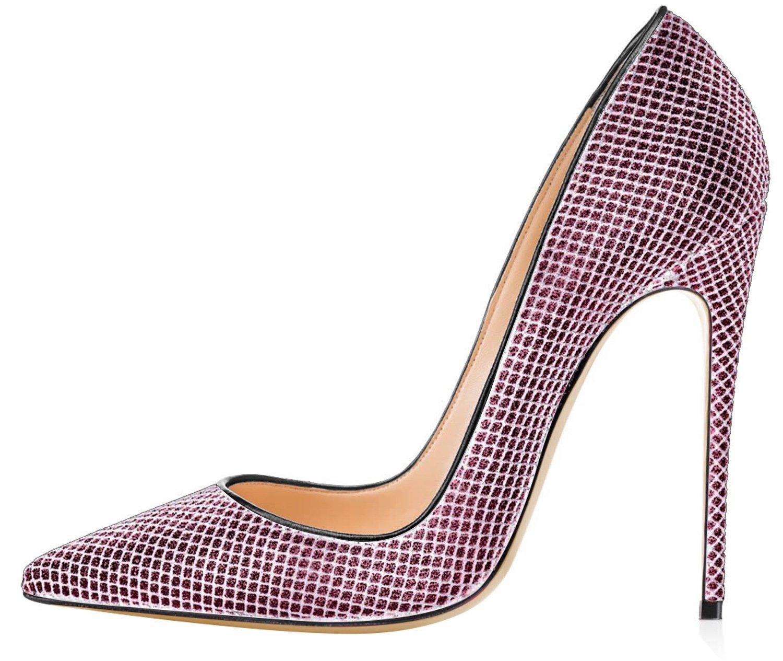 FYM Chaussures Zapatillas de squash y bádminton de Material Sintético para mujer 44 EU|Rosa