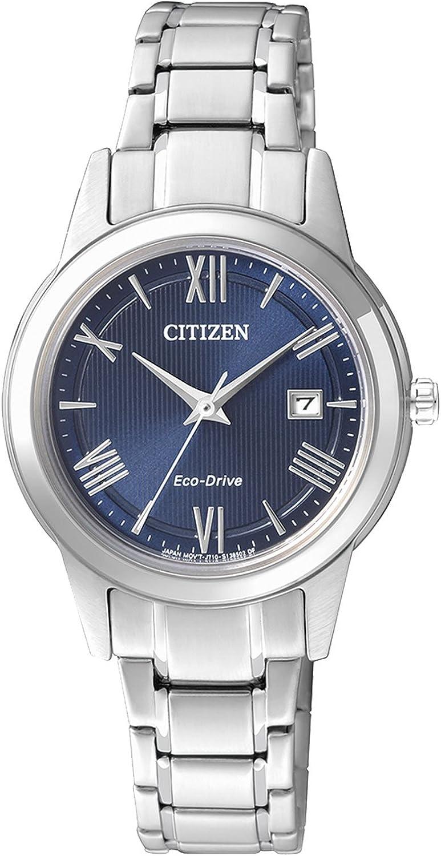 Citizen–Reloj de Pulsera analógico para Mujer (tamaño XS Cuarzo Acero Inoxidable fe1081–59L