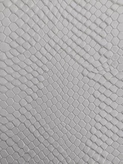 "Beige Faux Viper Sopythana Snake Skin Vinyl Fabric Sold By The Yard 52/"""