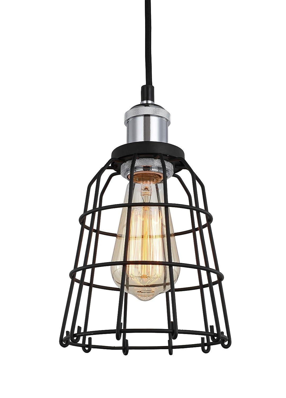 Woodbridge Lighting 18323CHRWL-SW106BK Ceiling Pendant Fixtures Black