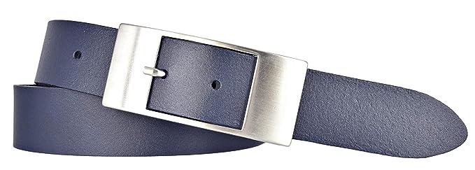 a4bdf134f5ef Bernd Götz Damen Leder Gürtel 35 mm marine Rindleder Damengürtel (80 cm)