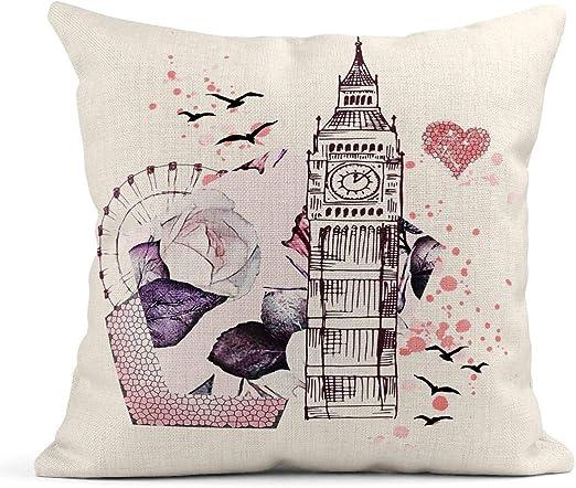 Cojín Decorativo LONDON 2 Tejidos JVR | Cojines decorativos