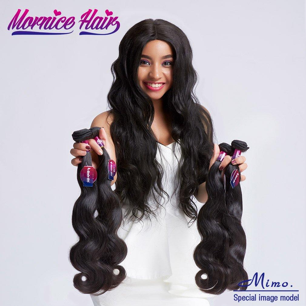 Amazon Brazilian Virgin Hair Body Wave 1 Bundle Mornice Hair