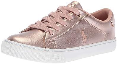 Polo Ralph Lauren Kids Girls  Easten Sneaker 03b5af801ca