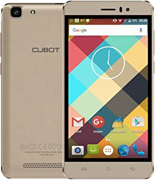 CUBOT Rainbow - Smartphone 3G WCDMA Android 6.0 (Quad Core MTK6580 5.0