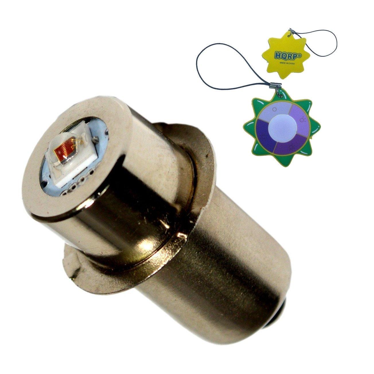 HQRP High Power Upgrade Bulb 3W LED RED Light Wavelength 625nm~635nm 7-30V for Dewalt: DW908 / DW919 / DW906 / DW918 / DW904 / DW902 / DW904 / DW9043 / DW9083 / DW9063 / DW9023 plus HQRP UV Meter