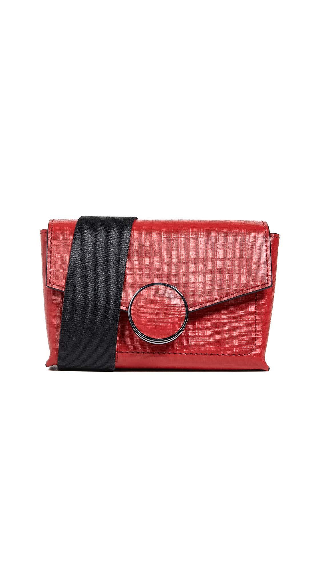 Botkier Women's Nolita Belt Bag, Fire Red, One Size