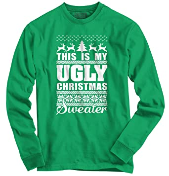 brisco brands my ugly christmas sweater funny holiday long sleeve tee - My Ugly Christmas Sweater