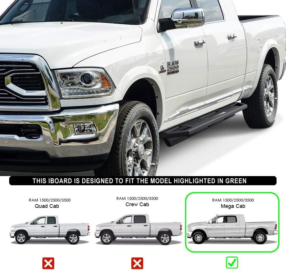 Hoop II Step For Chrome 2010-2018 Dodge Ram Pickup Pickup Bed Only 2 PC Set