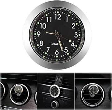 Car Quartz Clock For Dashboard Ornaments 4cm Dia 1 Piece