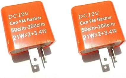 2 Pin Auto//Motocicleta Flasher//Peligro Relé Universal electrónico actualización