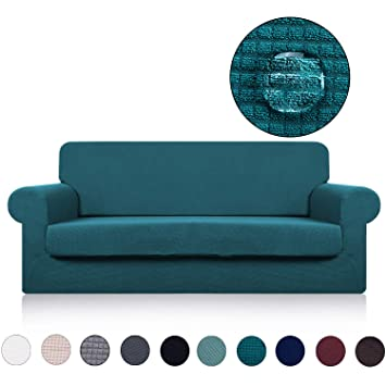 Amazon Com Large Sofa Cover With Separate Seat Cushion Cover 2