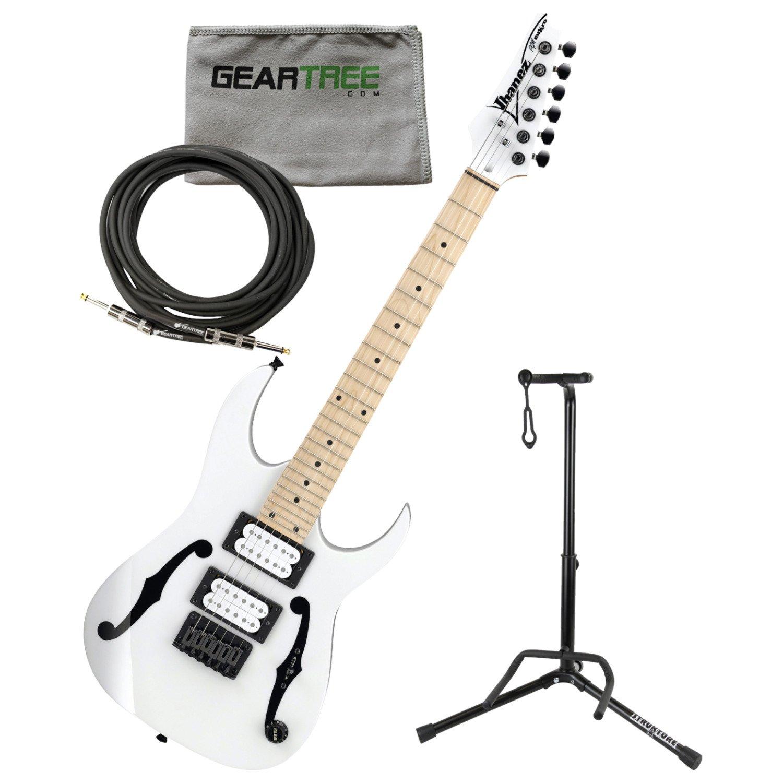 Ibanez pgmm31wh Paul Gilbert firma Mikro guitarra eléctrica (color ...