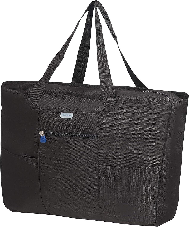 Foldable Shopping Bolso de viaje 39 centimeters 1 Negro Samsonite Global Travel Accessories Black