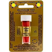 Sugarflair Blossom Tints Essbare Puderfarben Lebensmittelfarbe Fondant Puder Poppy Red Rot